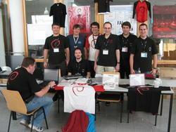Debian-Team at Froscon 2007, picture
