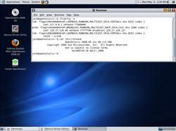 Screenshot of Opensolaris