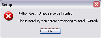 mikas blog » Blog Archive » Python and Twisted on Windows