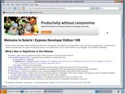Screenshot of SXCE